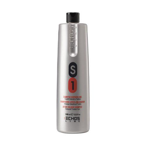 شامپو موهای رنگ شده S1 بزرگ اچ اس لاین