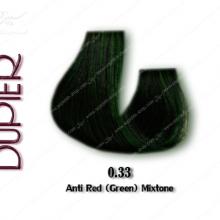 رنگ مو دوپیر واریاسیون سبز (ضد قرمزی) 0.33