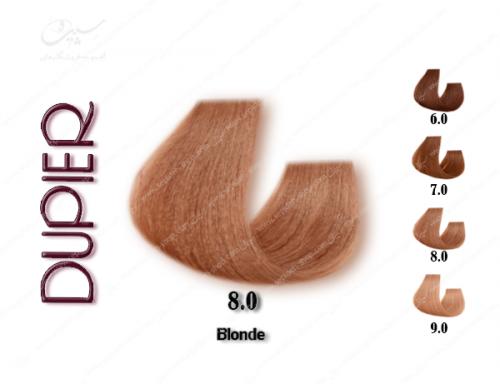 رنگ مو دوپیر قهوه ای طبیعی شماره 8.0