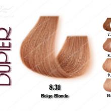 رنگ موی دوپیر بژ شماره 8.31