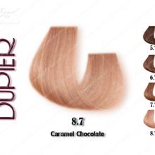رنگ موی دوپیر شکلاتی کاراملی شماره 8.7
