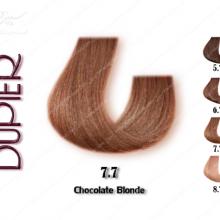 رنگ موی دوپیر شکلاتی شماره 7.7