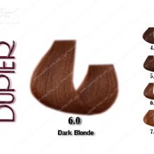 رنگ مو دوپیر قهوه ای تیره 6.0