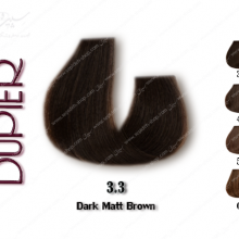 رنگ مو دوپیر زیتونی تیره  3.3