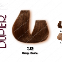 رنگ مو دوپیر بلوند کنفی 7.12