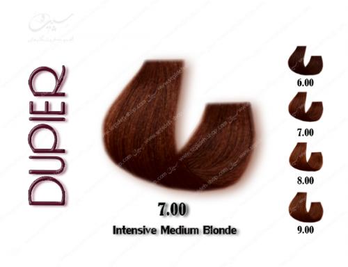 رنگ موی دوپیر بلوند متوسط قوی شماره 7.00