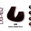 رنگ مو دوپیر قهوه ای متوسط قوی 4.00