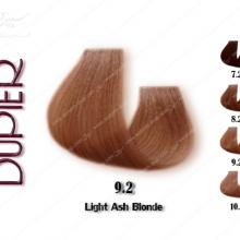 رنگ موی دوپیر ب.ل.و.ن.د خاکستری روشن شماره 9.2