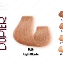رنگ مو دوپیر طبیعی روشن 9.0