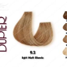 رنگ مو دوپیر بلوند زیتونی روشن 9.3