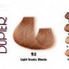 رنگ موی دوپیر ب.ل.و.ن.د دودی روشن شماره 9.1