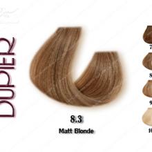 رنگ مو دوپیر بلوند زیتونی 8.3