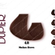 رنگ مو دوپیر قهوه ای طبیعی متوسط 4.0