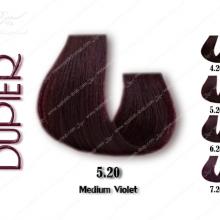 رنگ موی دوپیر شرابی متوسط شماره 5.20