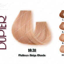 رنگ موی دوپیر بژ پلاتینه شماره 10.31