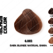 رنگ مو اچ اس لاین باهایا طبیعی تیره 6.003