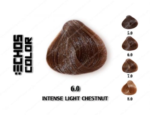 رنگ مو اچ اس لاین طبیعی تیره 6.0