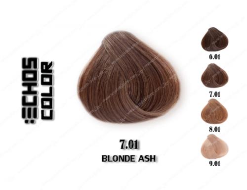 رنگ مو اچ اس لاین خاکستری طبیعی 7.01