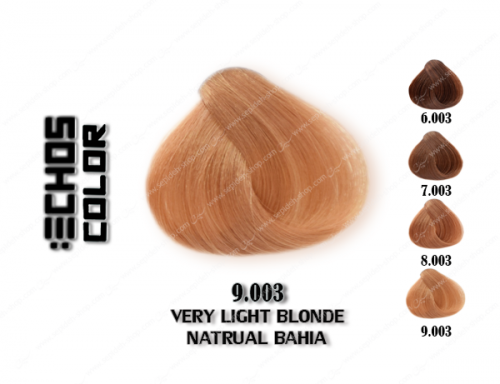 رنگ مو اچ اس لاین باهایا خیلی روشن 9.003