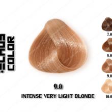 رنگ مو اچ اس لاین طبیعی خیلی روشن 9.0