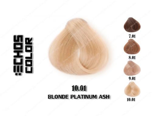 رنگ مو اچ اس لاین پلاتینی خاکستری 10.01