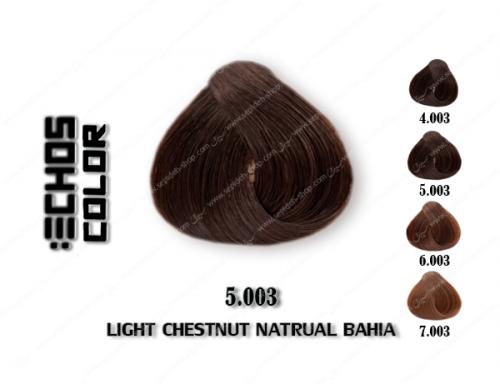 رنگ مو اچ اس لاین باهایا شاه بلوطی روشن 5.003