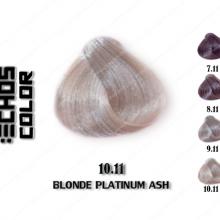رنگ مو اچ اس لاین خاکستری پلاتینه 10.11
