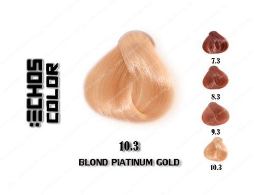 رنگ مو اچ اس لاین طلایی پلاتینی 10.3