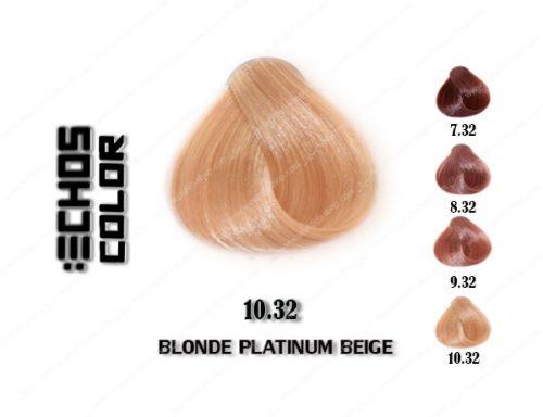 رنگ مو اچ اس لاین بژ پلاتینی 10.32