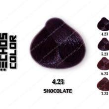 رنگ مو اچ اس لاین شکلاتی 4.23