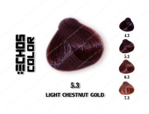 رنگ مو اچ اس لاین شاه بلوطی طلایی روشن 5.3