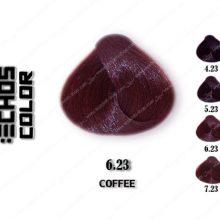 رنگ مو اچ اس لاین کافی قهوه 6.23