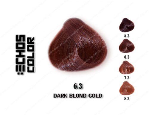رنگ مو اچ اس لاین طلایی تیره 6.3