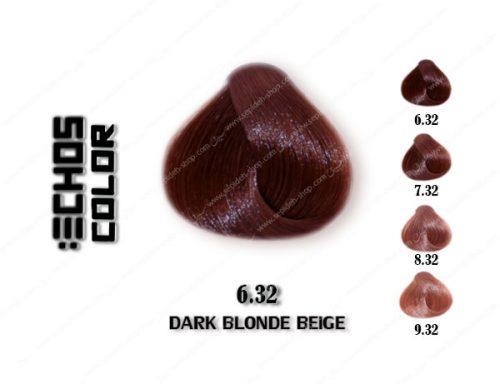 رنگ مو اچ اس لاین بژ تیره 6.32