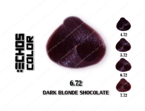 رنگ مو اچ اس لاین بلوند شکلاتی تیره 6.72