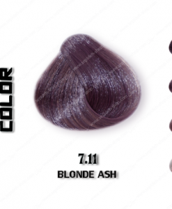 رنگ مو اچ اس لاین خاکستری 7.11