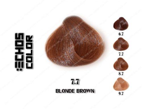 رنگ مو اچ اس لاین بلوند قهوه ای 7.7
