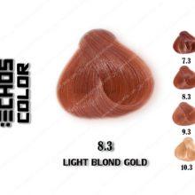 رنگ مو اچ اس لاین طلایی روشن 8.3