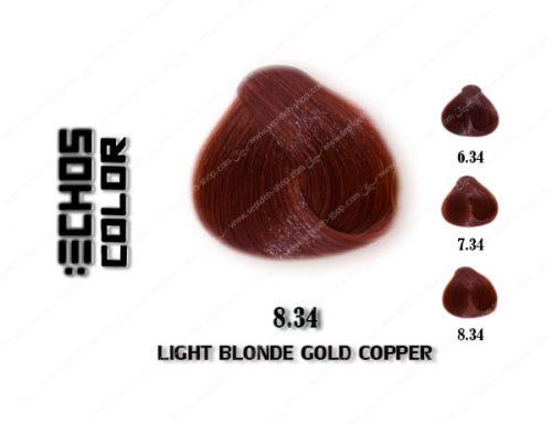 رنگ مو اچ اس لاین مسی طلایی روشن 8.34