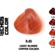 رنگ اچ اس لاین بلوند مسی طلایی روشن 8.43