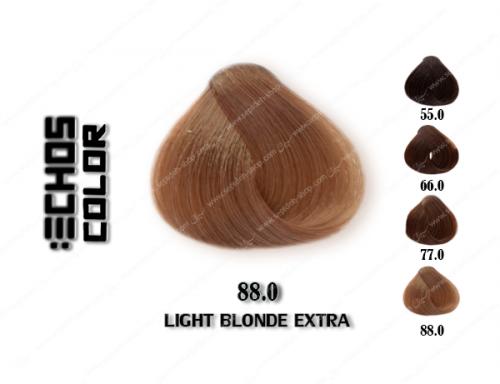 رنگ مو اچ اس لاین طبیعی شدید روشن 88.0