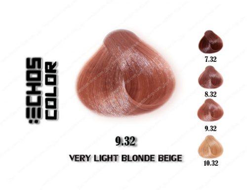 رنگ مو اچ اس لاین بژ خیلی روشن 9.32