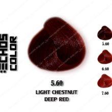 رنگ مو اچ اس لاین بلوطی قرمز روشن 5.60