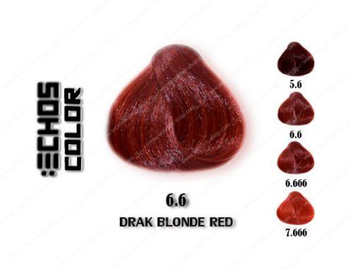 رنگ اچ اس لاین بلوند قرمز تیره 6.6