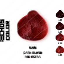 رنگ مو اچ اس لاین بلوند قرمز تند تیره 6.66