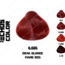 رنگ اچ اس لاین بلوند قرمز تند تیره 6.666