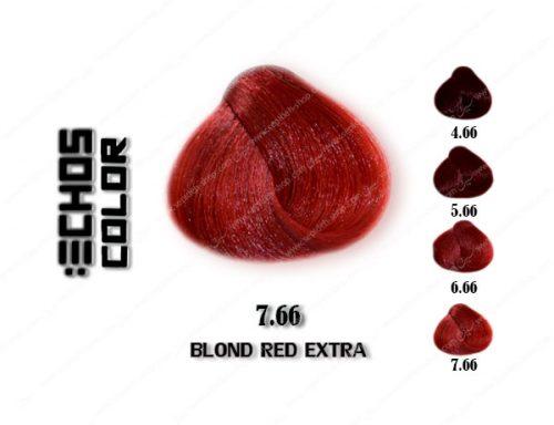 رنگ مو اچ اس لاین بلوند قرمز تند 7.66