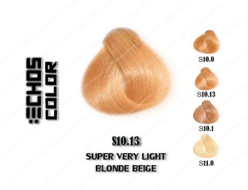 رنگ اچ اس لاین بلوند بژ فوق العاده روشن s10.13