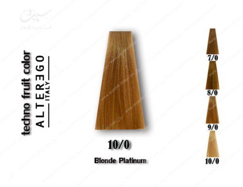 رنگ مو تکنو بلوند پلاتینی شماره 10.0