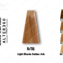 رنگ مو تکنو بلوند طلایی خاکستری روشن 8.31